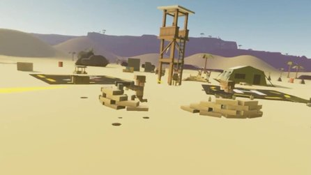 Out of Ammo - Launch-Trailer zum VR-Strategietitel im Early Access
