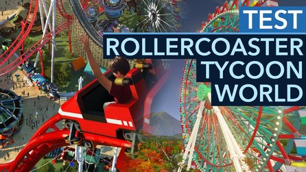 Rollercoaster Tycoon World - Test-Video: Zombieparade im Diaprojektor