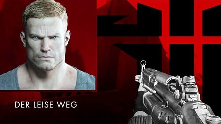 Wolfenstein: The New Order - Gameplay-Trailer: Schleichen oder Ballern