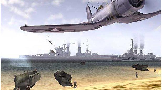 <b>Battlefield 1942</b><br/>Mit Battlefield 1942 legten der schwedische Entwickler DICE (Digital Illusions CE) und der Publisher EA im Jahre 2002 den Grundstein für eine der erfolgreichsten Shooter-Reihen. Auf den Schlachtfeldern des 2. Weltkriegs kämpfen in Battlefield 1942 die Streitkräfte der Alliierten gegen die Achsenmächte um die Kontrolle über Flaggenbasen und damit den Sieg im Conquest-Modus. <br/><br/>Die bis zu 64 Spieler können dazu nicht nur auf ein umfassendes Arsenal an Handfeuerwaffen zurückgreifen, sondern auch Fahr- und Flugzeuge nutzen. Zudem stehen verschiedenen Charakterklassen mit unterschiedlicher Ausrüstung zur Wahl. Das Spiel übernahm einige Elemente aus dem Mehrspieler-Abschnitt von Codename Eagle, einem Titel des schwedischen Entwicklerteams Refraction Games, dass 2000 von DICE aufgekauft wurde.