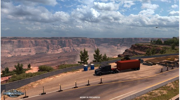 American Truck Simulator - Screenshots zum Arizona-DLC