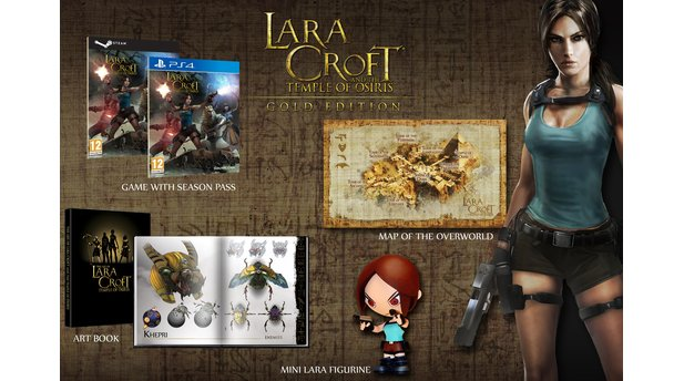 Lara Croft and the Temple of Osiris - Gold Edition & Vorbesteller-Packs