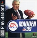 Cover zu Madden NFL 99 - PlayStation