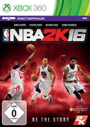 Cover zu NBA 2K16 - Xbox 360