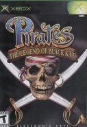Cover zu Pirates: The Legend of Black Kat - Xbox