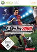 Cover zu Pro Evolution Soccer 2009 - Xbox 360