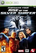 Cover zu Fantastic Four: Rise of the Silver Surfer - Xbox 360