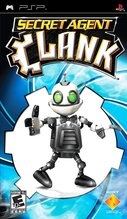 Cover zu Secret Agent Clank - PSP