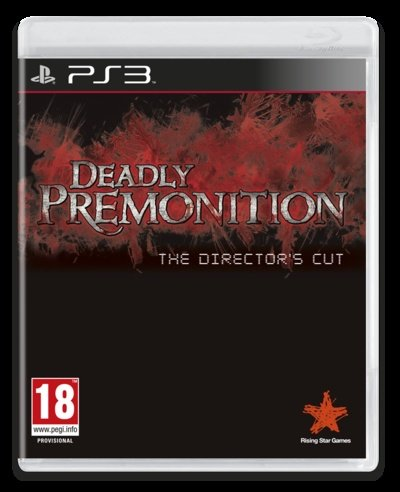 Der »Director's Cut« von Deadly Premonition für die PlayStation 3.