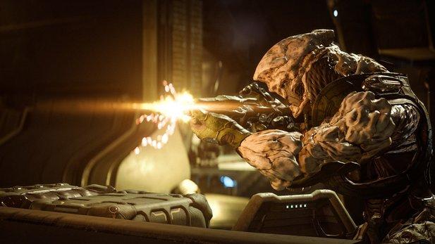 Mass Effect: Andromeda präsentiert erstmals die Remnant als neue Feinde.