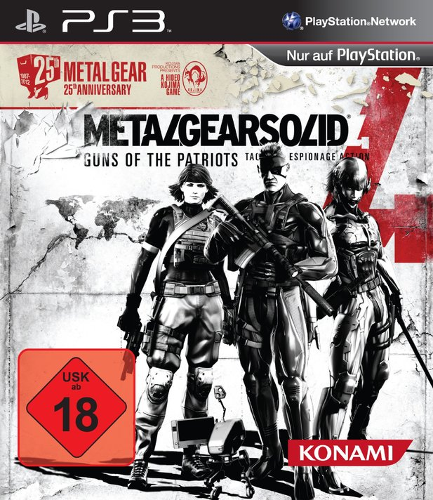 Die Geburtstags-Edition von Metal Gear Solid 4: Guns of the Patriots.