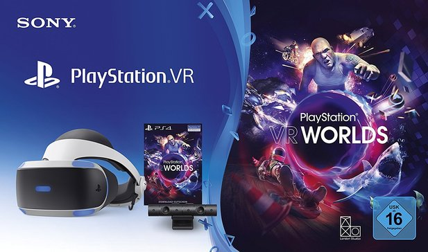 PlayStation VR Bundle für 260 Euro.