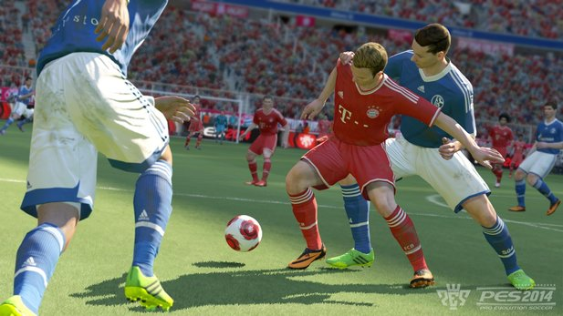 Der Day-One-Patch von Pro Evolution Soccer 2014 bereitet Probleme.