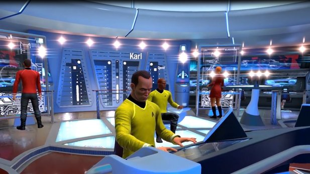 Star Trek: Bridge Crew - Trailer zeigt Geordi La Forge beim Star-Trek-Spielen