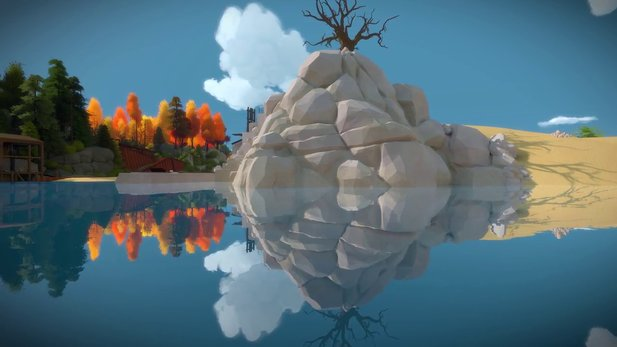 The Witness - Landschafts-Trailer des Puzzlespiels