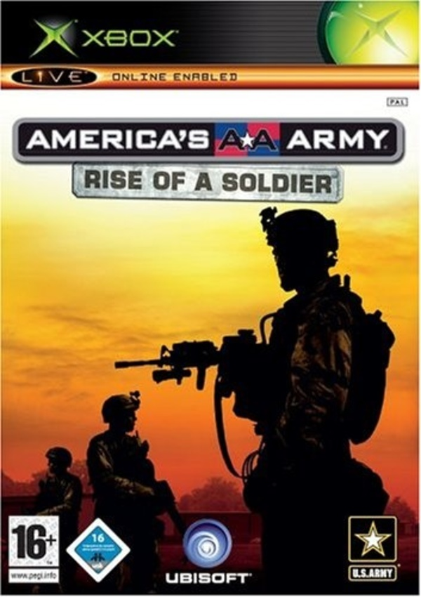 Cover zu America's Army: Rise of a Soldier