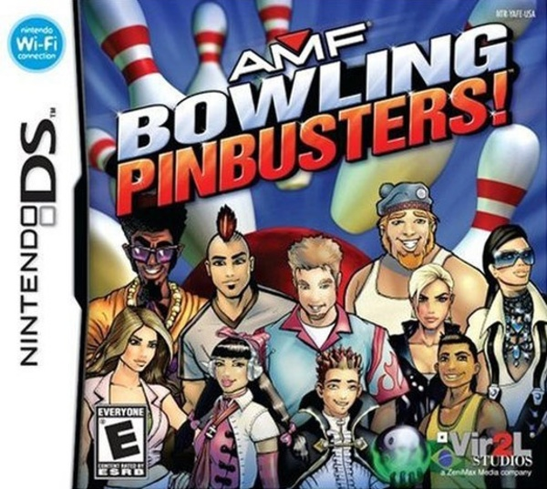 Cover zu AMF Bowling Pinbusters