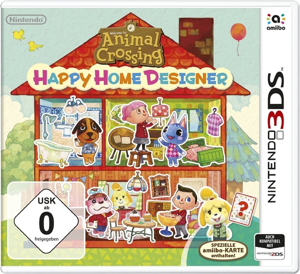 Cover zu Animal Crossing: Happy Home Designer