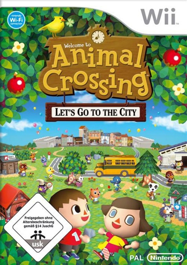 Cover zu Animal Crossing: City Folk