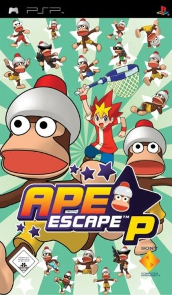 Cover zu Ape Escape P