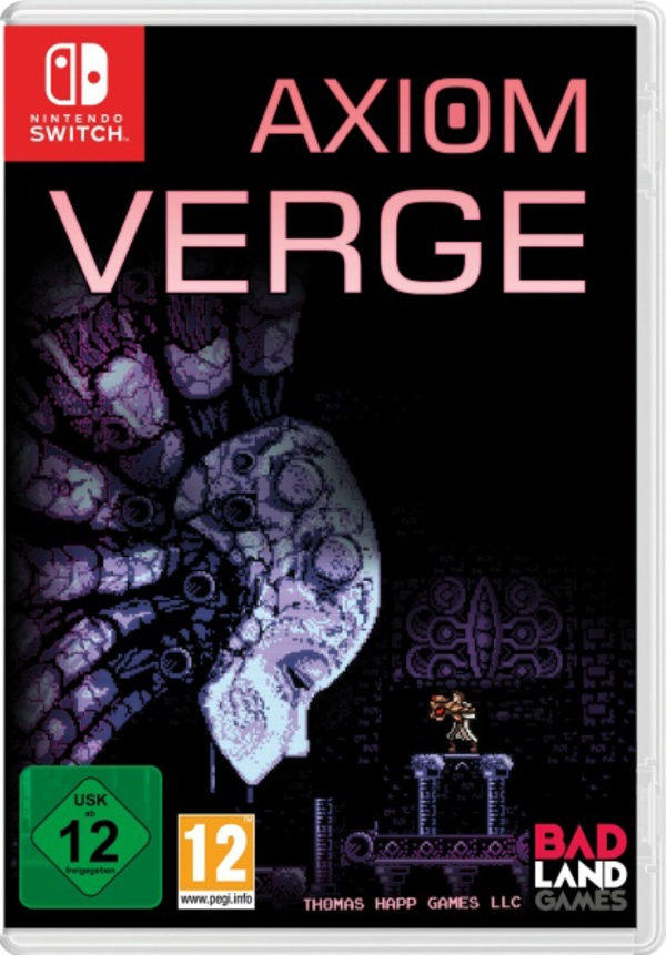 Cover zu Axiom Verge: Multiverse Edition