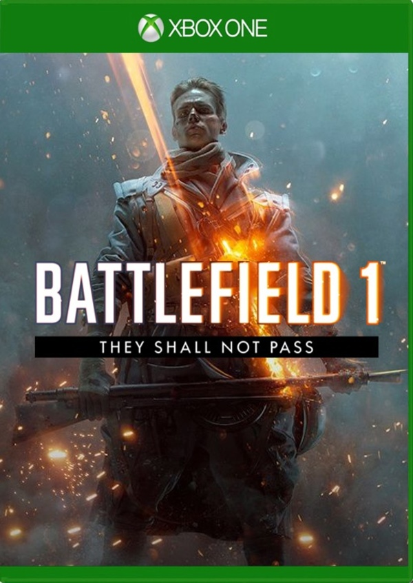 Cover zu Battlefield 1: They Shall Not Pass