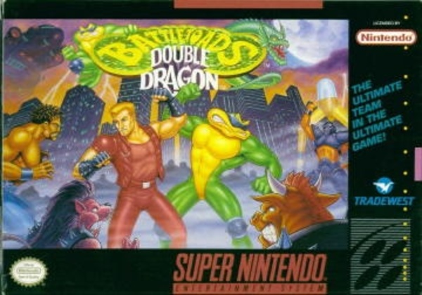 Cover zu Battletoads & Double Dragon: The Ultimate Team