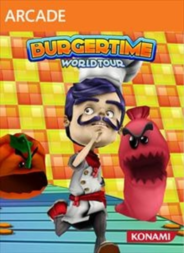 Cover zu BurgerTime World Tour