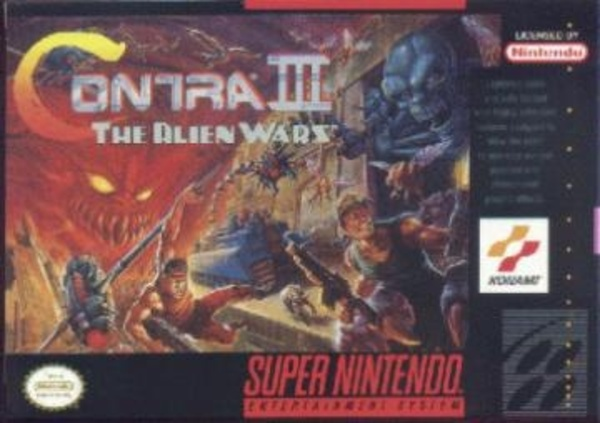 Cover zu Contra III: The Alien Wars