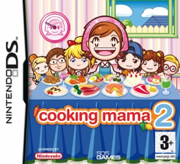 Cover zu Cooking Mama 2: Dinner with Friends