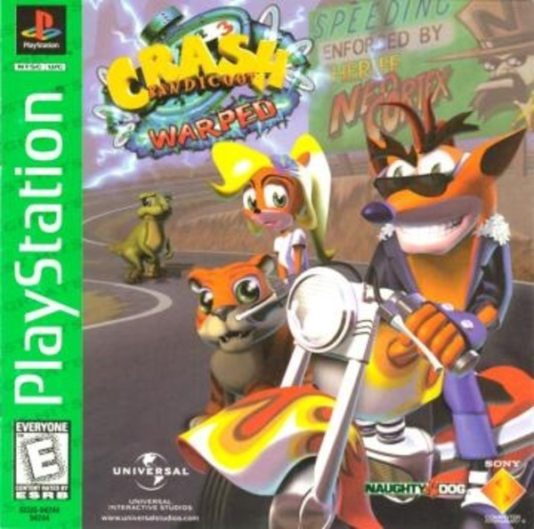 Cover zu Crash Bandicoot: Warped