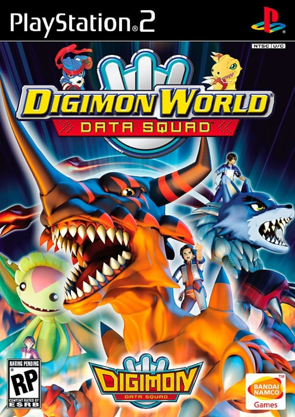 Cover zu Digimon World Data Squad