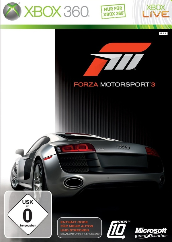 Cover zu Forza Motorsport 3