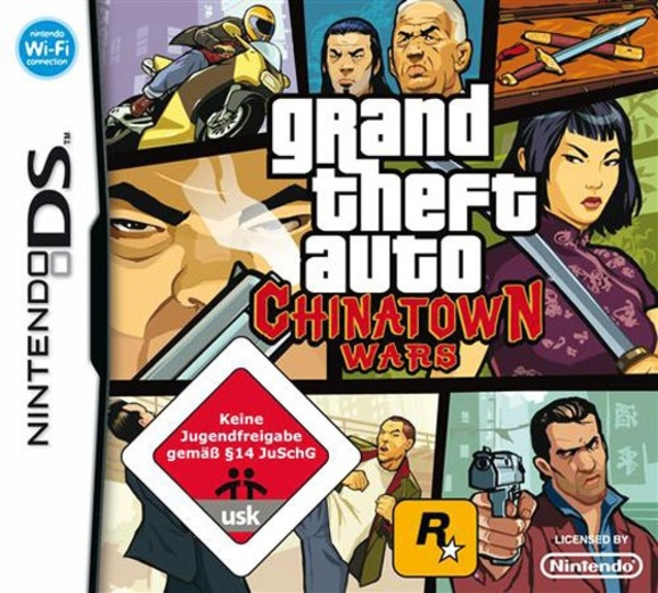 Cover zu GTA: Chinatown Wars