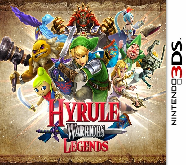 Cover zu Hyrule Warriors: Legends