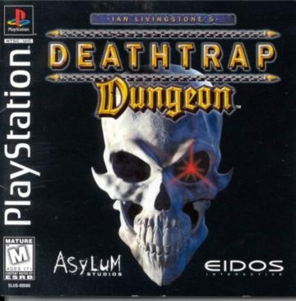 Cover zu Ian Livingstone's Deathtrap Dungeon