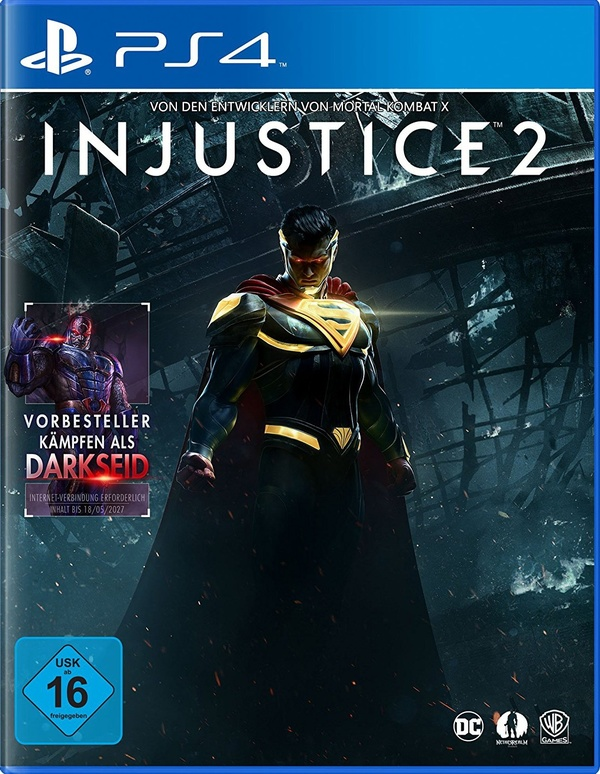 Cover zu Injustice 2