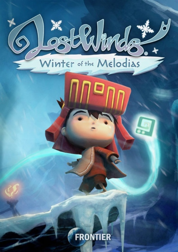 Cover zu LostWinds: Winter of the Melodias