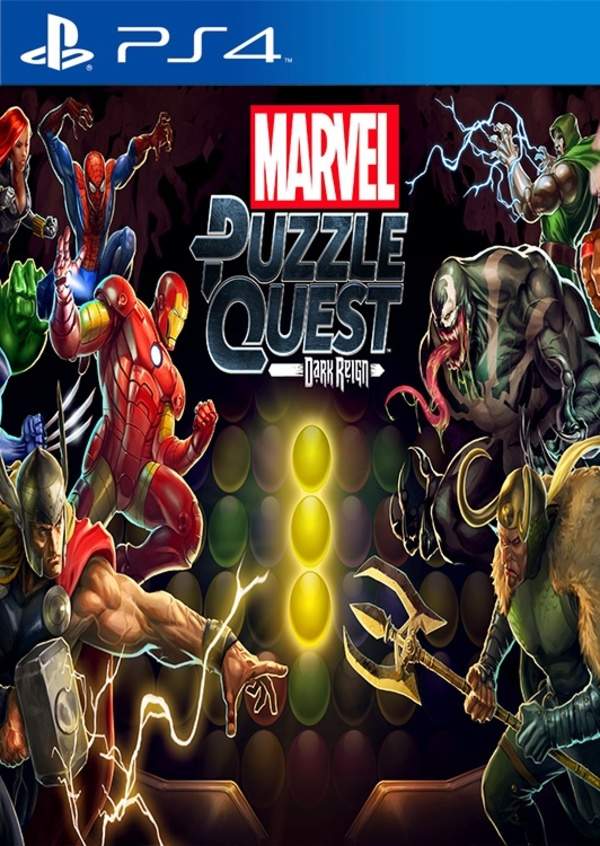 Cover zu Marvel Puzzle Quest: Dark Reign