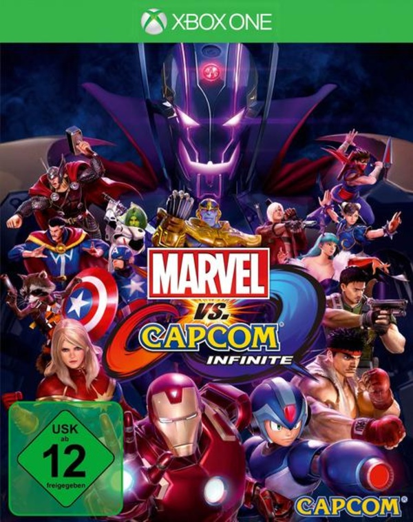 Cover zu Marvel vs. Capcom Infinite