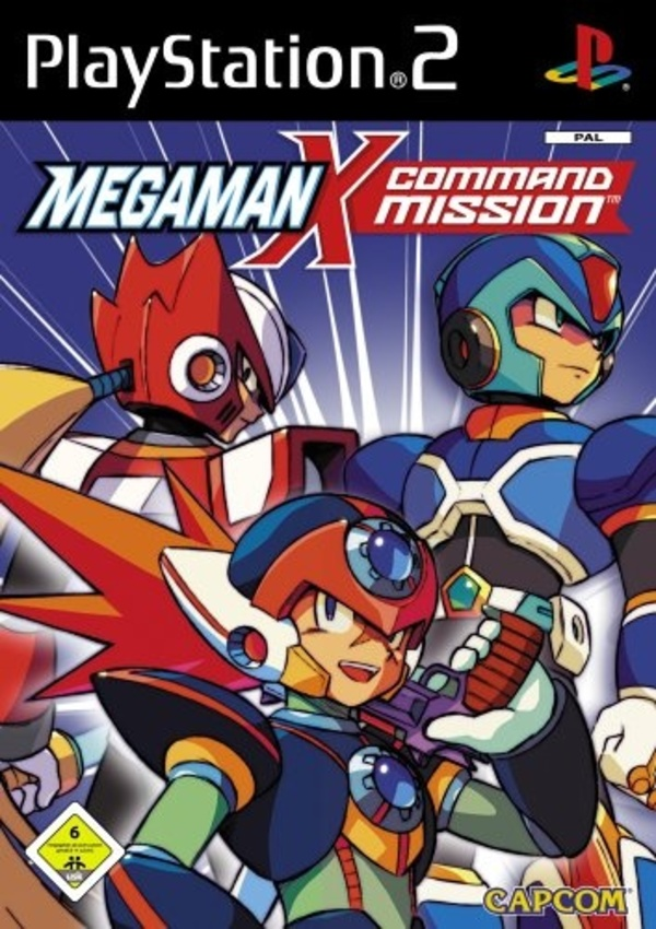 Cover zu Mega Man X Command Mission