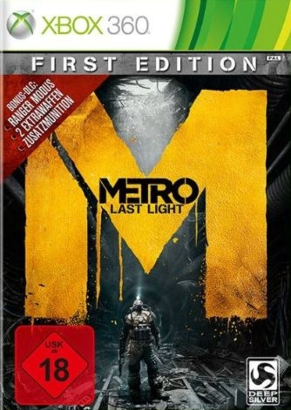 Cover zu Metro: Last Light