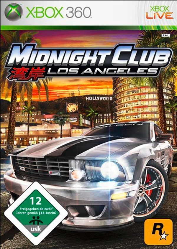 Cover zu Midnight Club: Los Angeles