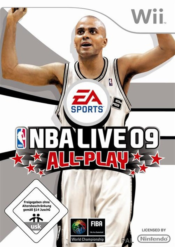 Cover zu NBA Live 09