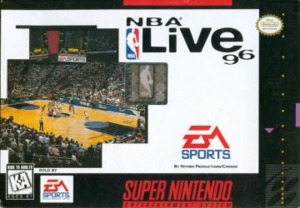 Cover zu NBA Live 96