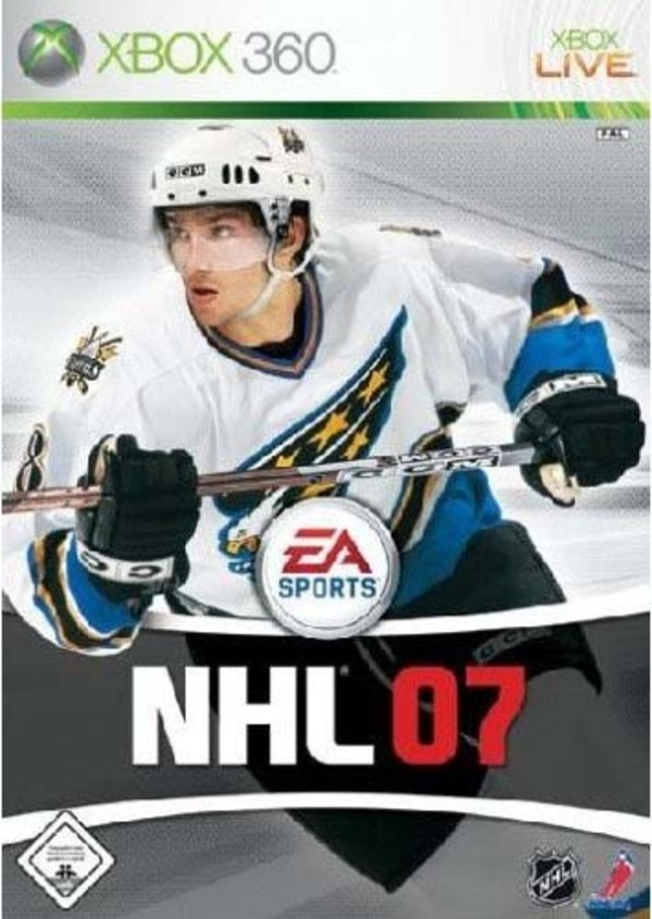 Cover zu NHL 07