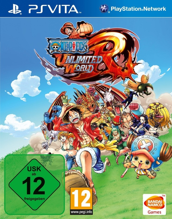 Cover zu One Piece: Unlimited World Red