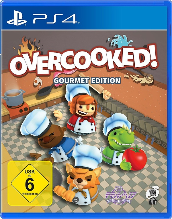 Cover zu Overcooked