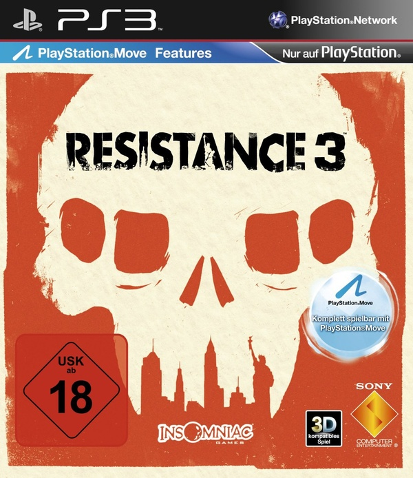 Cover zu Resistance 3