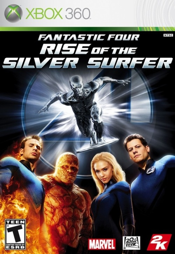 Cover zu Fantastic Four: Rise of the Silver Surfer